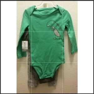 3 Piece 24 Months Toddler Outfit Or Sleepers